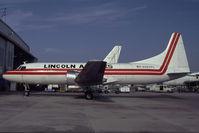 N584PL @ KOPF - Lincoln Airlines Convair 580