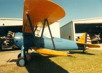 N104L @ 52F - Stearman at Aero Valley (Northwest Regional) - by Zane Adams