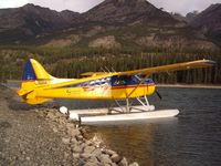 C-GUDK - Picking us up from an Elk Hunt, Tuchodi Lake Northern BC - by Paul Ballard