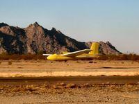 N2975H @ E68 - Landing at Estrella - by Rick Jones