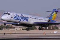 N866GA @ KLAS - Allegiant Air / 1989 McDonnell Douglas DC-9-83(MD-83)