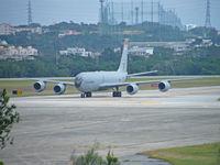 63-7999 @ RODN - Boeing KC-135R/(ZZ)18 Wing/Kadena - by Ian Woodcock