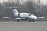 D-IHEB @ VIE - Silver Cloud Air Cessna 525 Citationjet - by Thomas Ramgraber-VAP