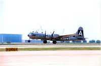 N529B @ AFW - B-29 FIFI Takes off from Allaince Ft. Worth