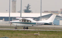N4585K @ LFBO - Cessna 210 photographed in Toulouse , France in January 2008
