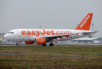 G-EZBF @ LFBO - Easyjet A319 arrives at Toulouse
