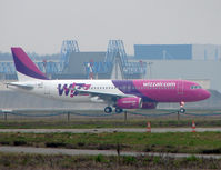 HA-LPO @ LFBO - In final Test Flight stages , Wizz Air Airbus using temporary registration F-WWDO