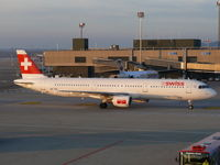 HB-IOD @ LSZH - Rolling towards it's parking spot in the late afternoon sun - by Alex Smit