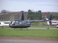 G-IFDM @ EGSF - Robinson R44 Astro parked at Conington - by Simon Palmer