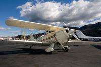 N88EH @ SZP - Hooper Biplane - by Ron Eyanson