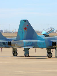 76-1547 @ AFW - Marine F-5 Agressor of VMFT-401 at Alliance Fort Worth - by Zane Adams