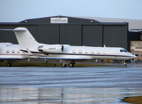 N100JF @ EGGW - Gulfstream G1159C at Luton in Feb 2008 - by Terry Fletcher