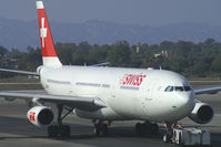 HB-JMB @ KLAX - Swiss International Airlines Airbus A340-300