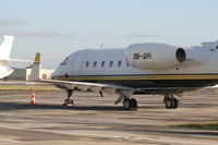3B-GFI @ EBBR - General Aviation apron - by Daniel Vanderauwera