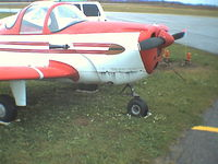 CF-LUN @ CYVV - my fathers ercoupe just before he sold it - by Brad Meisel