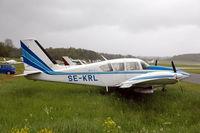 SE-KRL @ ESKB - Piper Aztec at Barkarby airfield, Stockholm, Sweden. - by Henk van Capelle