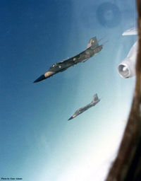UNKNOWN - F-111 refueling over New Mexico during High School ROTC field trip. KC-135 from Carswell AFB.