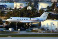 N820BA @ FLL - Gulfstream landing at FLL in Feb 2007