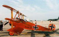 N1839 - Fokker DR-1 Replica at the former Dallas Naval Air Station