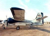 N6192F - C-1A at the former Dallas Naval Air Station