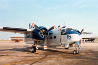 N6192F - C-1A at the former Dallas Naval Air Station - by Zane Adams