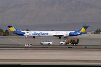 N864GA @ KLAS - Allegiant Air / 1989 McDonnell Douglas DC-9-83(MD-83)