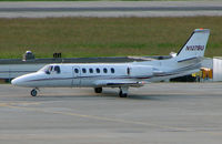 N127BU @ LSGG - Cessna 551 at Geneva on EBACE 2007 Week