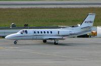 N127BU @ LSGG - Cessna 551 at Geneva on EBACE 2007 Week