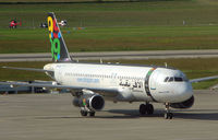 S5-AAA @ LSGG - Colourful A320 at Geneva in May 2007