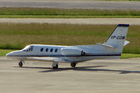 VP-COM @ LSGG - Citation 500 at Geneva during EBACE 2007 Week
