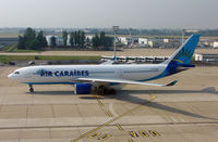 F-OPTP @ LFPO - Air Caribes A330 taxies onto stand at Paris Orly in May 2007