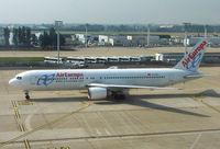 EC-HSV @ LFPO - Air Europa B767 arrives at Paris Orly in May 2007