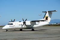 C-GJVB @ CYVR - Hawkair aircraft - by Michel Teiten ( www.mablehome.com )