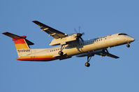 OE-LGF @ VIE - old Tyrolean livery - Bombardier Inc. DHC-8-402