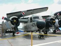 133264 - This Grumman Tracker has found a home aboard the USS Intrepid, alongside a Tracer cousin. - by Daniel L. Berek
