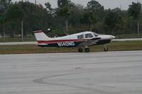 N140ND @ ISM - PA-28-161 - by Florida Metal
