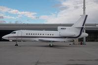 N8BX @ VIE - Falcon 900