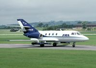 G-FRAM @ EGDY - This Falcon was later sold as 9M-FRA.