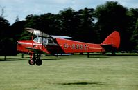 G-ADKC @ WOBURN - There is always a fine relaxed atmosphere at the anual Moth Ralley at Woburn Abbey.