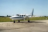 UNKNOWN @ DPA - Photo taken for aircraft recognition training.  Piper Aerostar