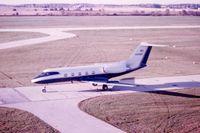 N5400G @ DPA - Photo found at DuPage Tower. Ex-N5400G, Gulfstream II - by Unknown via Glenn E. Chatfield