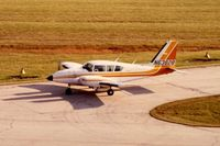 N63828 @ DPA - Photo taken for aircraft recognition training.  Ex-N63828, Piper Aztec - by Glenn E. Chatfield