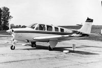 UNKNOWN @ 06C - Photo taken for aircraft recognition training.  Beech Bonanza 36