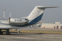 D-AJGK @ EBBR - parked on General Aviation apron - by Daniel Vanderauwera