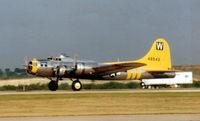 N3701G - B-17 Chuckie - Departing Meacham Field