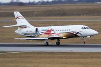 HB-JEG @ VIE - Dassault Falcon 2000EX - plane of Michael Schumacher