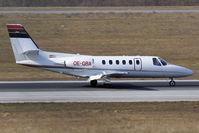 OE-GBA @ VIE - Cessna Aircraft Company 550