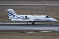 OE-GMS @ VIE - Private Learjet 35A