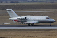 OE-INX @ VIE - Bombardier Challenger 604