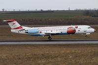 OE-LVK @ VIE - Euro2008 - Fokker100